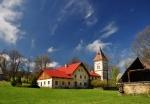 Kostel u Gerlovo Dvora.