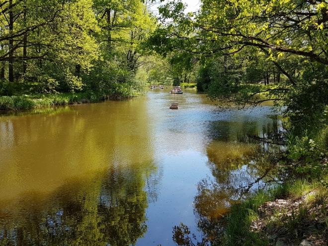Klidná voda před Majdalenou.