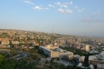 Výhled na Jerevan z parku Vítězství