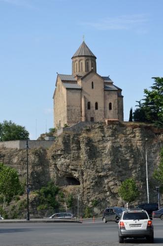 Tento kostelík se docela podobá těm v Arménii.