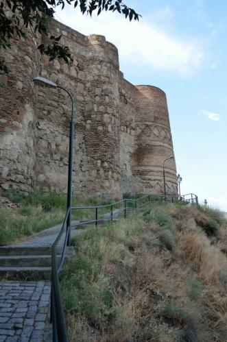 Pevnost nesoucí název Narikala, založená ve čtvrtém století