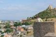 Tbilisi z pevnosti Narikala