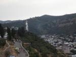 Tbilisi, poblíž horní stanice lanovky