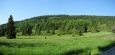 Vrch Krb (1 019 m n. m.) je také tisícovkou.
