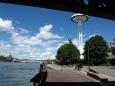 V Lyonu na nábřeží řeky Rhony