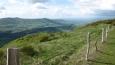 Pohled na sever z cesty ze sedla Col de Sérre