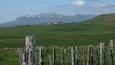 Monts Dore zbytky sněhu