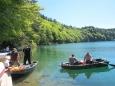 Na jezeře Lac Pavin