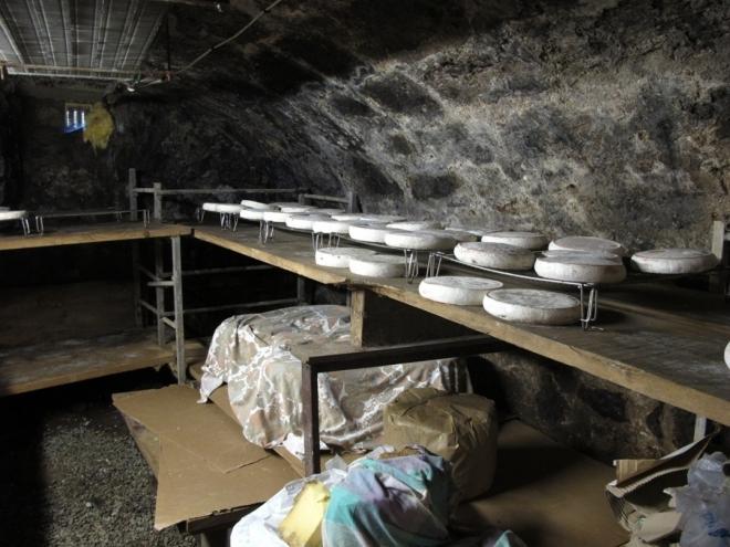 Sklep - Prodej sýrů ve farmě Chamaliéres