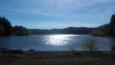 Lac Montcineyre proti Slunci