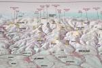 Mapka vrcholů.