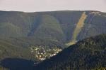 Špindlerův Mlýn pozvolna skryje večerní stín.