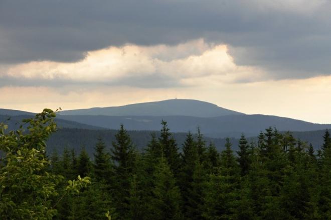 Černá hora z Šeřína.