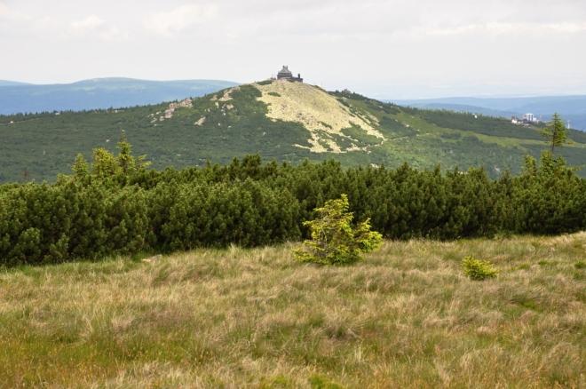 Szrenica je na polském území.