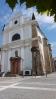 Kostel sv. Františka z Assisi byl postaven v letech 1651 - 1655 při františkánském klášteru. Po požářu, který kostel a klášter zachvátil v roce 1803, byl kostel kompletně přestavěn v empírovém slohu. Přestavba proběhla v letech 1822 -1824. Pseudorománská zvonice byla přistavěna v roce 1842. (Mapy.cz)