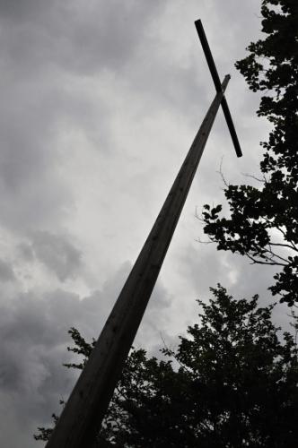 Vrcholový kříž.