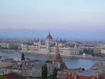 Budova budapešťského parlamentu