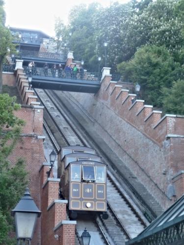 Lanovka na Budínský hrad