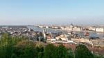 Panorama Budapeště z hradu