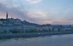 Panorama městské části Budín