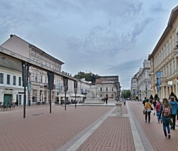 Náměstí v Szegedu