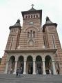 Rumunská pravoslavná katedrála zblízka