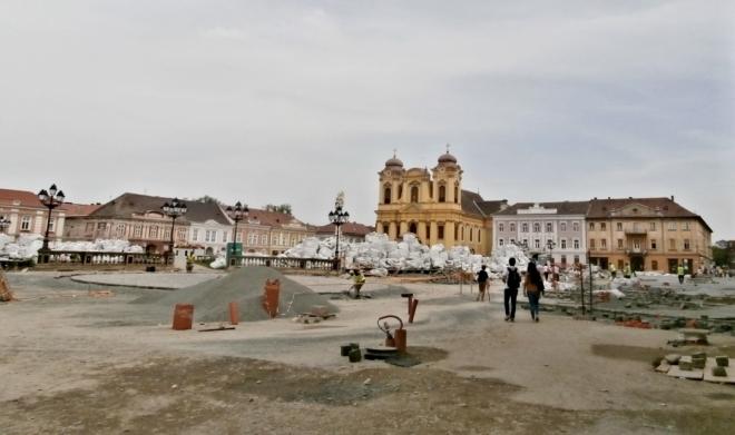 Rekonstrukce náměstí Svobody (rok 2015)