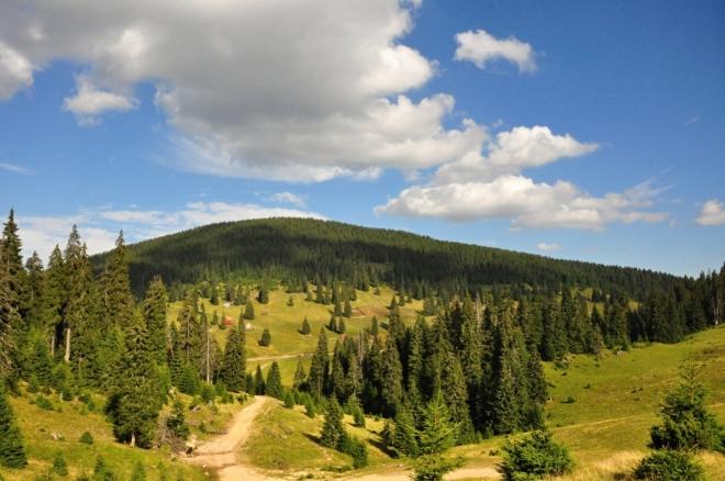 V dohledu již máme planinu nad soutěskou Someşului.