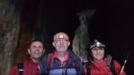 Tři pětiny naší výpravy do středu Země.