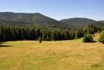 Přecházíme zadní čast planiny Căput.