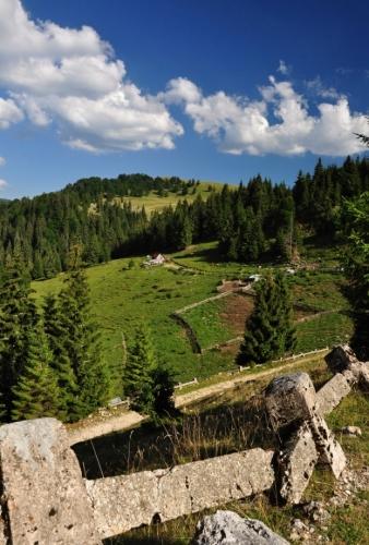 Stará cesta z Bihoru k přehradě  Beliz Fantănele...