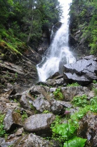 Roháčský vodopád...
