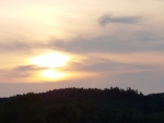 Čekání na západ slunce...