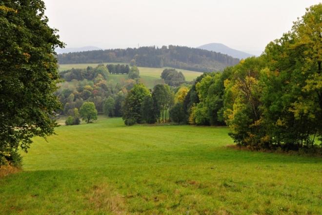 Pastviny nad Horní Světlou.