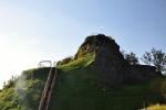Tolštejn, středověký hrad, dnes nejlépe dochovaná zřícenina Lužických hor...