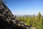 Malý Stožec - výrazný znělcový vrch...