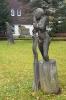 Skulptura v Kvildě.