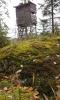 Posed pod vrcholem Nad Bukovou slatí.