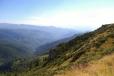 Pohled do hluboké doliny říčky Bulz.