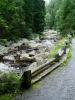 Starobylá cesta už musela zažít spousty turistů, právě tady je nejvyhledávanější místo celé Šumavy.
