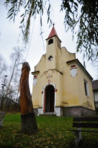 Kostelík sv. Jiří v Mnichově.