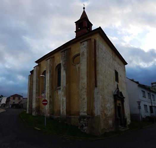 Kostel Zvěstování Panně Marii.