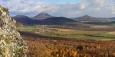 Lipská hora, Milešovka a Kletečná.