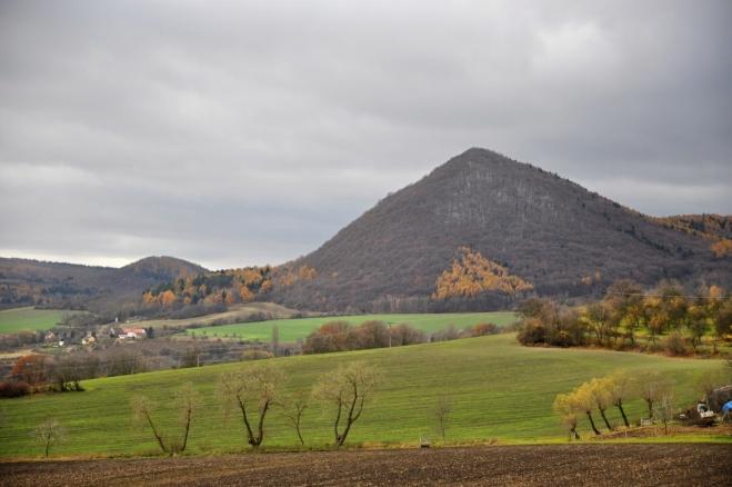 Lipská hora od Ostrého.