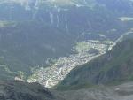 Vysokohorské městečko Zermatt