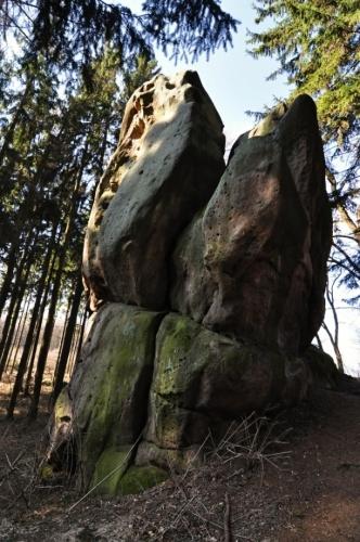 Velký Buchlovický kámen.