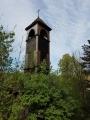 Dřevěná zvonička ve Vrbnu pod Pradědem...
