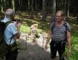 V Brdech narazíte na mnoho pomníčků padlým Rudoarmějcům.