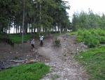 Klesáme k Padrťským rybníkům...