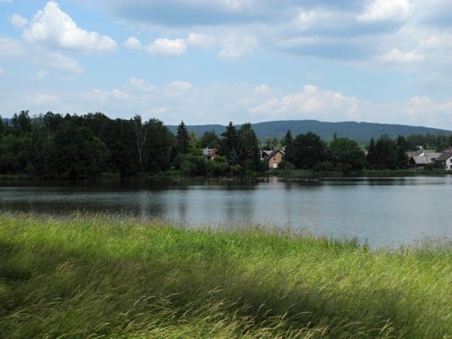 Podzámecký rybník.
